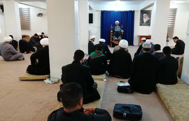 صورة حوزة كربلاء المقدسة تحيي الايام الفاطمية الأولى بمجلس عزاء