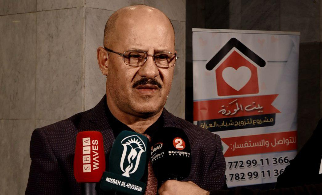 Photo of سعد حافظ: مشروع بيت المودة لتزويج شباب العراق من المشاريع الانسانية المهمة