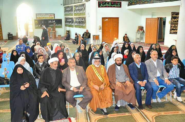 صورة مركز اهل البيت يشارك باحياء ذكرى شهادة السيدة الزهراء عليها السلام في بغداد