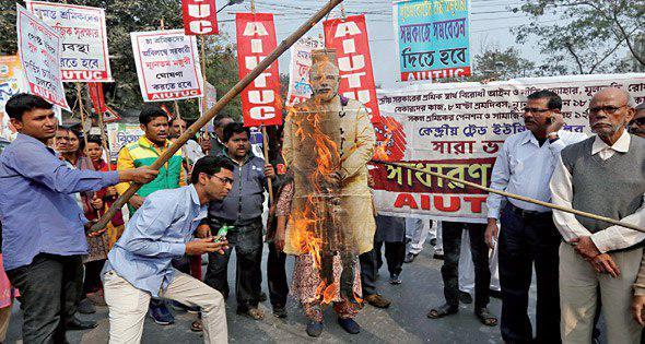 صورة مزارع الشاي تنتفض ضد رفض الهند منح الجنسية للمهاجرين المسلمين
