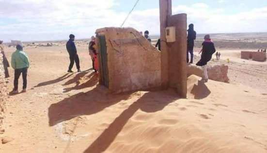 صورة مسجد تحت الأرض يروي قصة كفاح الشعب الجزائري (صور)