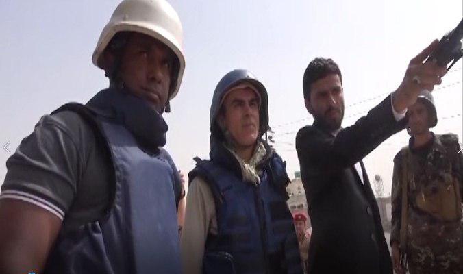 صورة التحالف السعودي يستهدف فريق نزع الألغام الأممي والمحلي في الحديدة