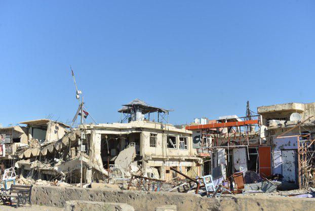 صورة المرصد العراقي: تدمير 12 ألف منزل في بيجي