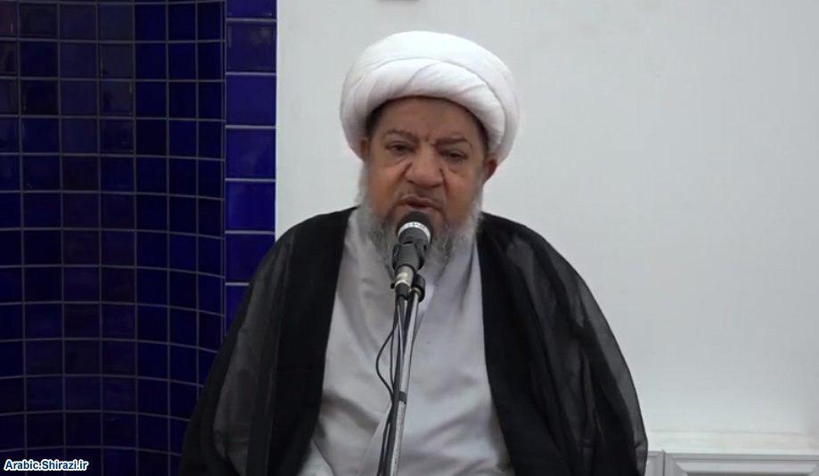 صورة الأرض المقدّسة عنوان لمحاضرة اسبوعية لوكيل المرجع الشيرازي في البحرين