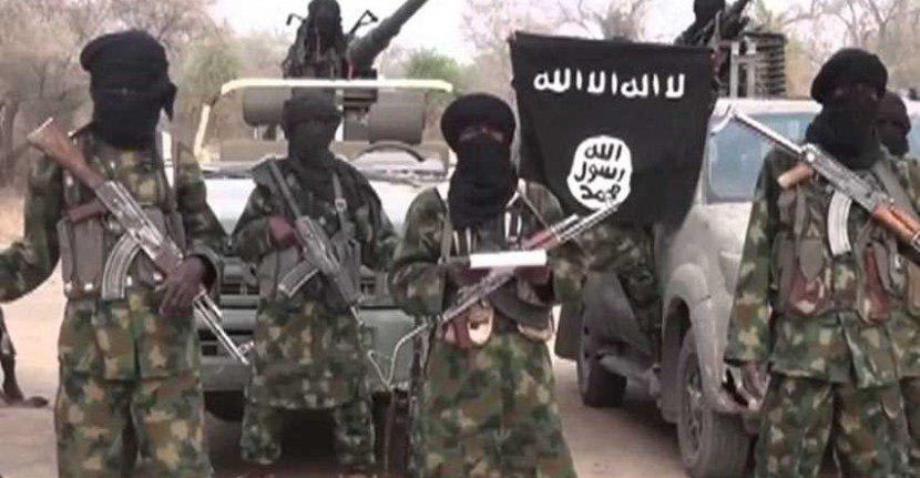صورة تنظيم داعش يعلن مسؤوليته عن مقتل عشرة جنود نيجيريين
