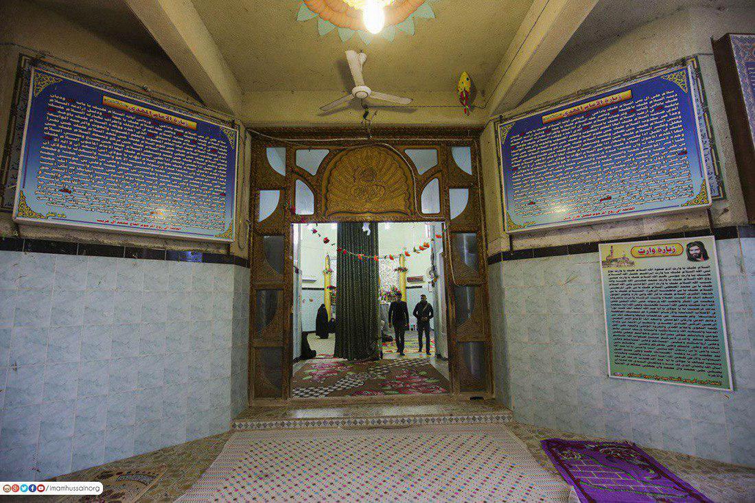 صورة بالصور .. مقام الامام المهدي عجل الله تعالى فرجه في مدينة السماوة جنوب العراق