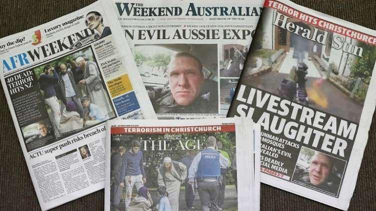 صورة تبييض للإرهاب .. انتقادات للإعلام الغربي على طريقته في تغطية مجزرة المسجدين