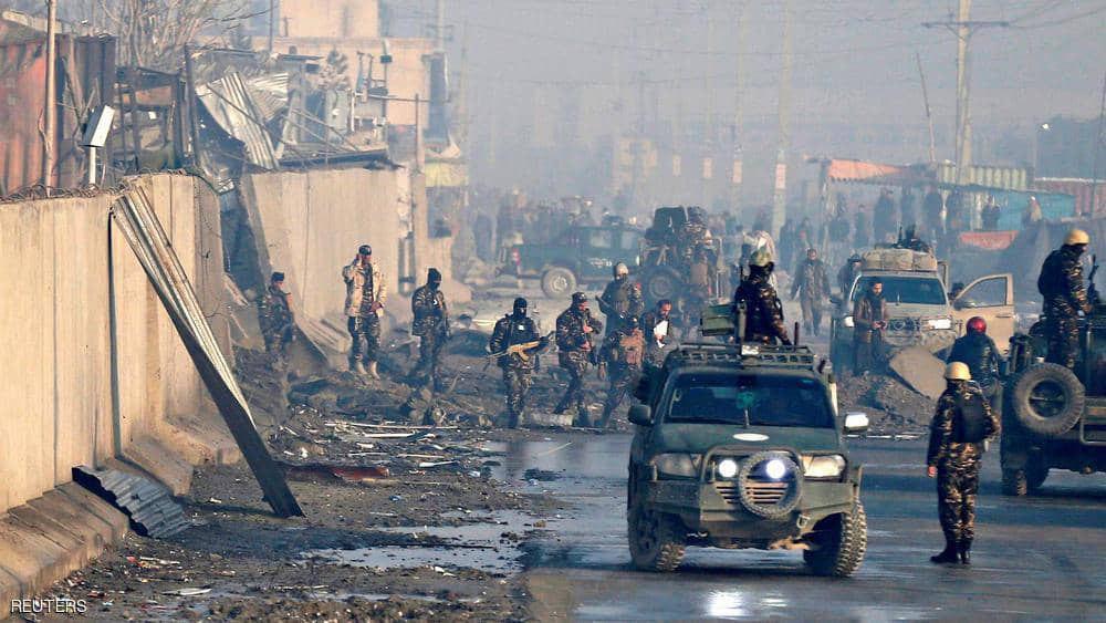 صورة انفجاران في أفغانستان وأنباء عن إصابة حاكم هلمند