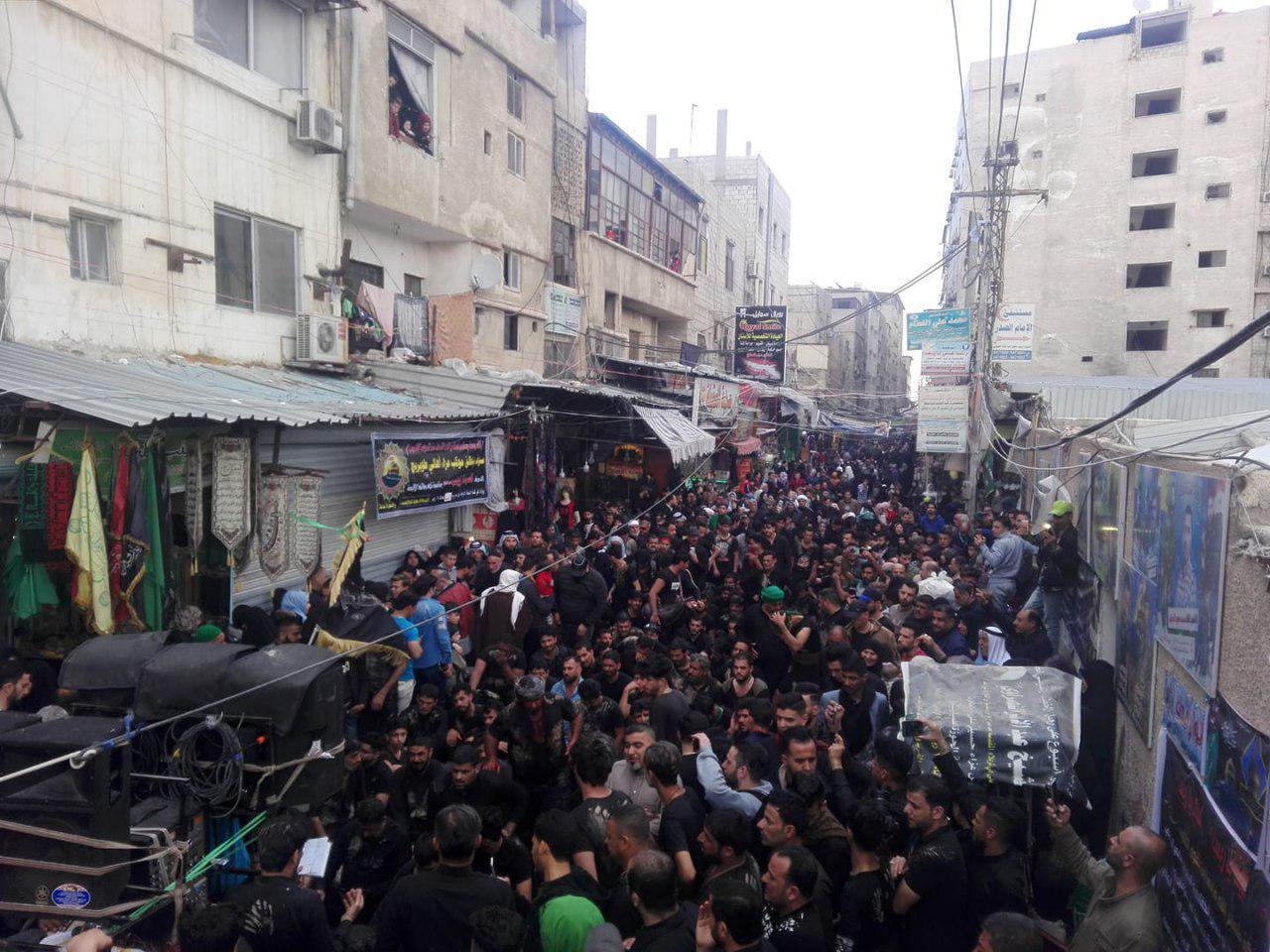 صورة اتباع اهل البيت من كل حدب وصوب يحيون في سورية ذكرى شهادة السيدة زينب عليها السلام