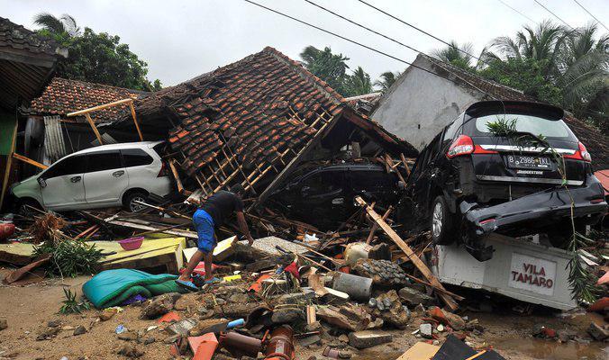 صورة سلسلة زلزال تضرب مدنا اندونيسية صباح اليوم