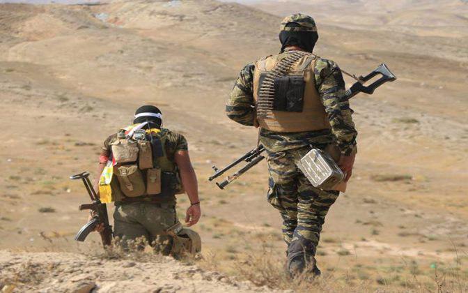 صورة العراق: اندلاع اشتباكات بين الحشد وداعش الارهابي شرق القيروان