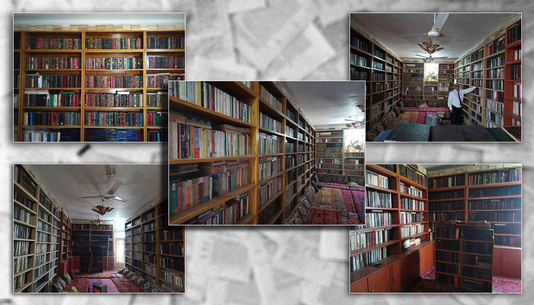 صورة صاحب مكتبة شخصية في كربلاء يروي معاناته بجمع 16000 كتاب وكيف كانت سببا لاعتقاله