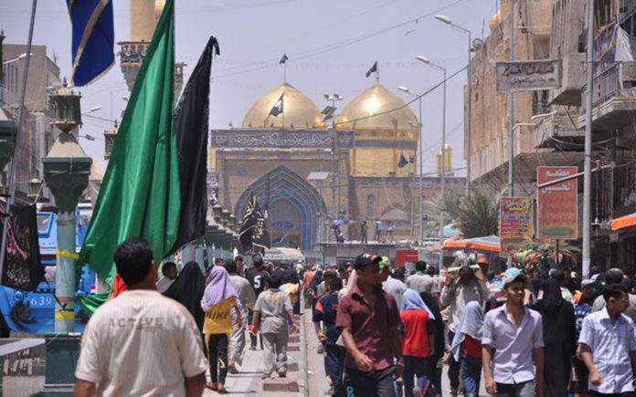 صورة الحشد الشعبي يخصص 100 عجلة لزوار الإمام الكاظم عليه السلام