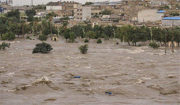 صورة وزير الصحة الايراني: ضحايا السيول بلغت 45 شخصا