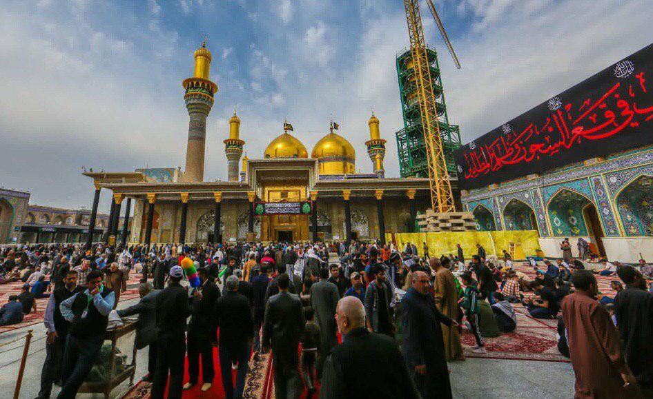 صورة الداخلية: بغداد تشهد اقبالا كبيرا بمناسبة زيارة الامام موسى الكاظم مقارنة بالسنوات الماضية