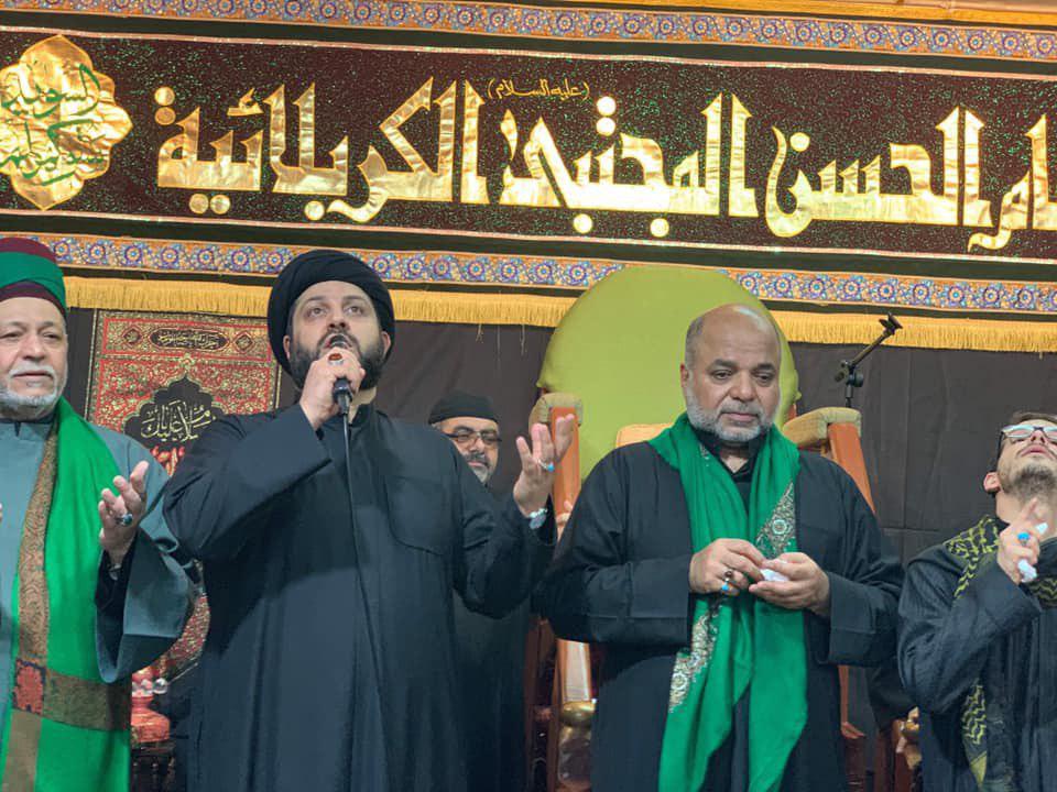 صورة ستوكهولم تشهد اقامة مراسيم العزاء بذكرى شهادة الامام الكاظم عليه السلام