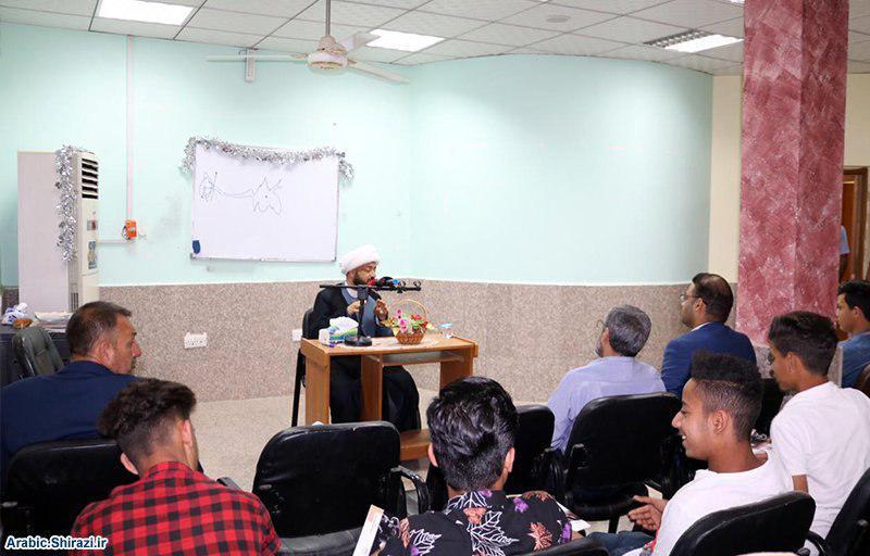 صورة تنظيم ندوة حول مخاطر المخدرات من قبل مكتب المرجع الشيرازي في البصرة