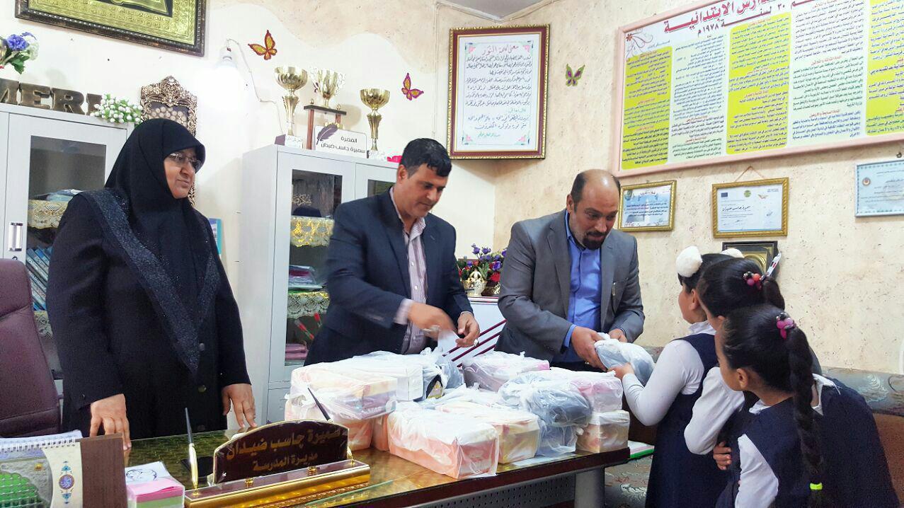 صورة مركز اهل البيت يوصل برنامجه الثقافي في مدارس العاصمة بغداد