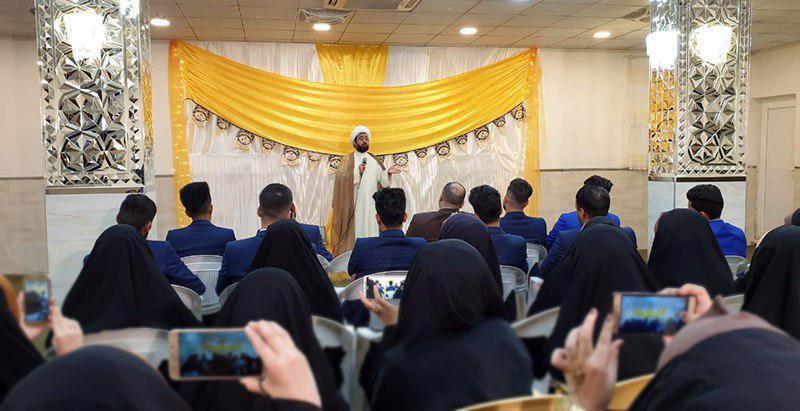 صورة مؤسسة المعصومين الأربعة عشر تقيم احتفالية لتخرّج مجموعة من طلبة جامعة بابل