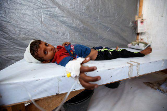 صورة تحذيرات من عودة انتشار وباء الكوليرا في اليمن