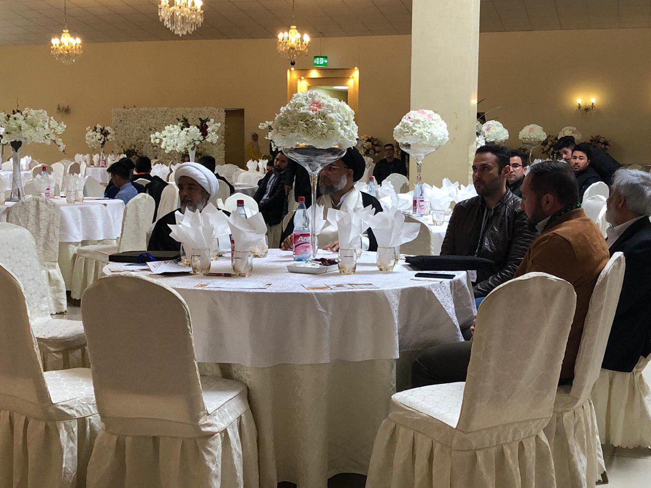 صورة انعقاد اكبر مؤتمر في اوربا لدعم مجموعة الامام الحسين عليه السلام الاعلامية