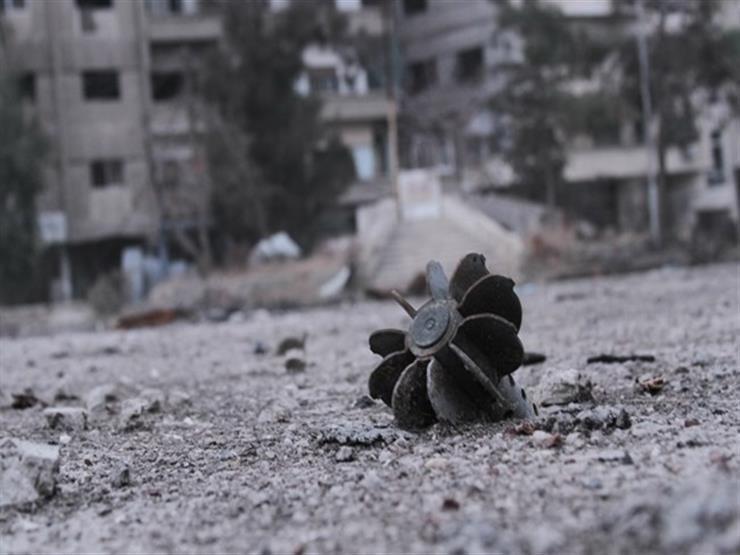صورة استشهاد 3 أطفال جراء اعتداء إرهابي بالقذائف على مدينة السقيلبية في سوريا