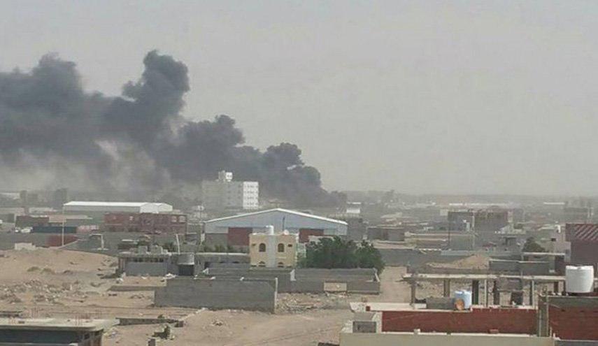 صورة التحالف السعودي يقصف غمر ويطلق 68 قذيفة و10 صواريخ على الحديدة