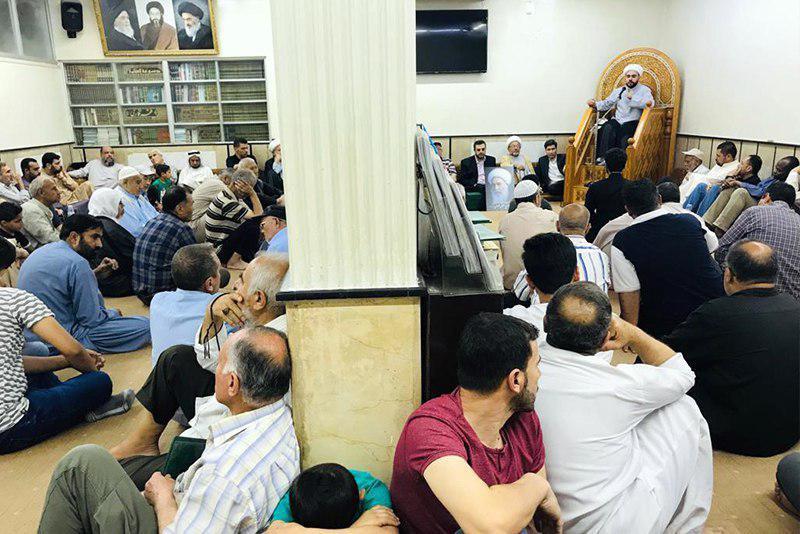 صورة الحوزة العلمية الزينبية بسوريا تؤبّن المرحوم المحقّق الكابولي
