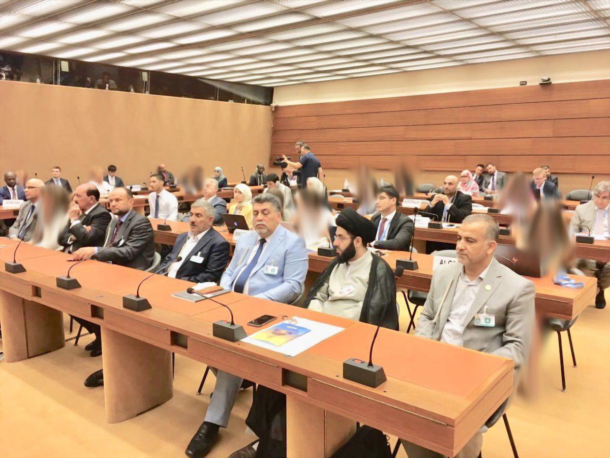 صورة ندوة حول عهد الامام علي لمالك الاشتر بحضور ممثلي البعثات الدبلوماسية وسفراء الدول في جنيف