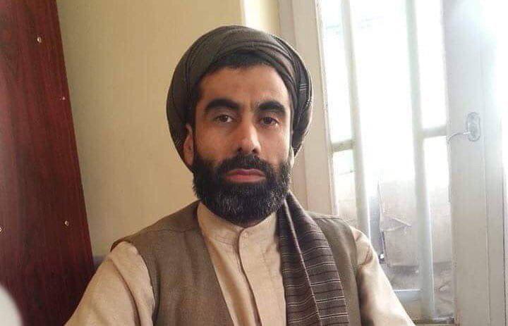 صورة اغتيال رجل دين شيعي على خلفية طائفية شمال افغانستان