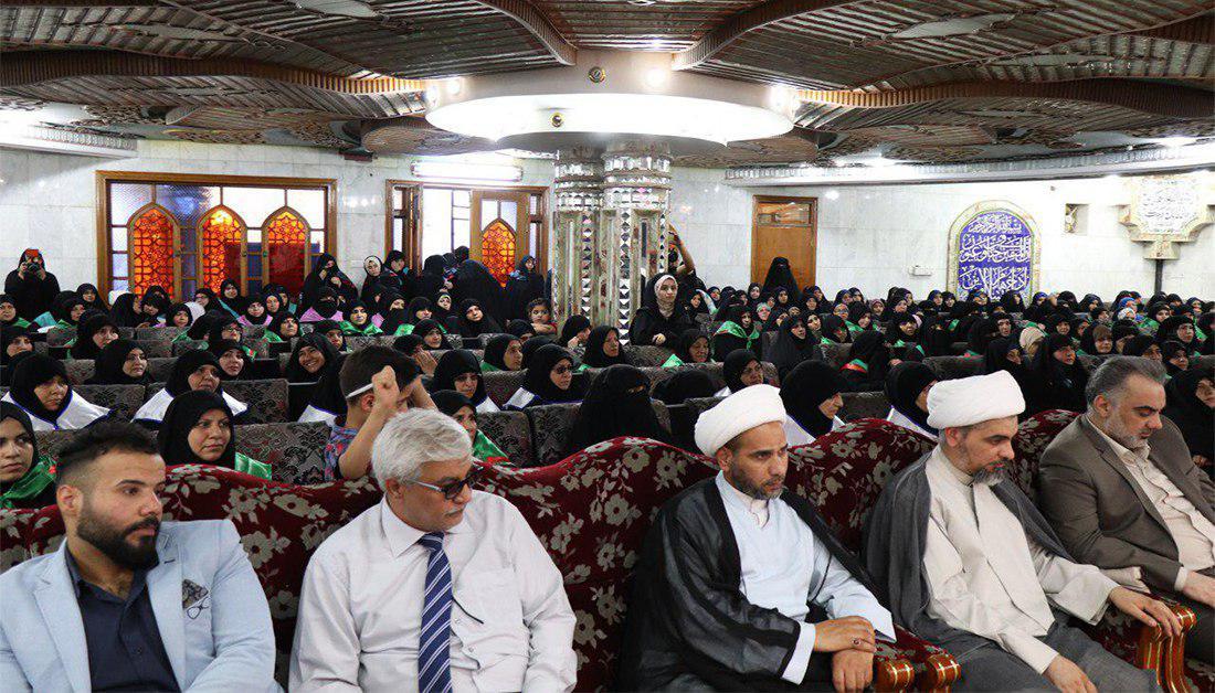 صورة العتبة الحسينية تحتفي بتخريج 200 طالبة في محافظة بغداد