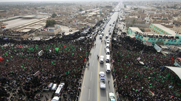 Photo of مشاركة مليونية للزائرين في عزاء ركضة طويريج الخالد  في كربلاء المقدسة