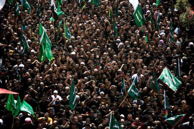صورة منظمة شيعة رايتس ووتش تنعى شهداء باب الرجاء