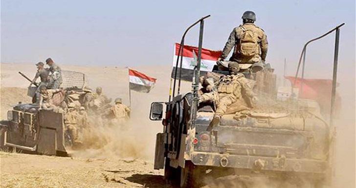 صورة الشرطة العراقية تدمر 5 مضافات لـداعش الارهابي شرق ديالى