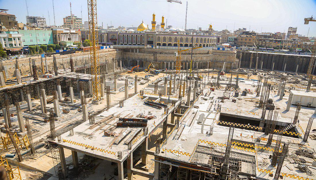 صورة العتبة الحسينية تكشف عن الطرق الجديدة التي سيتم افتتاحها امام الزائرين خلال زيارة الاربعين