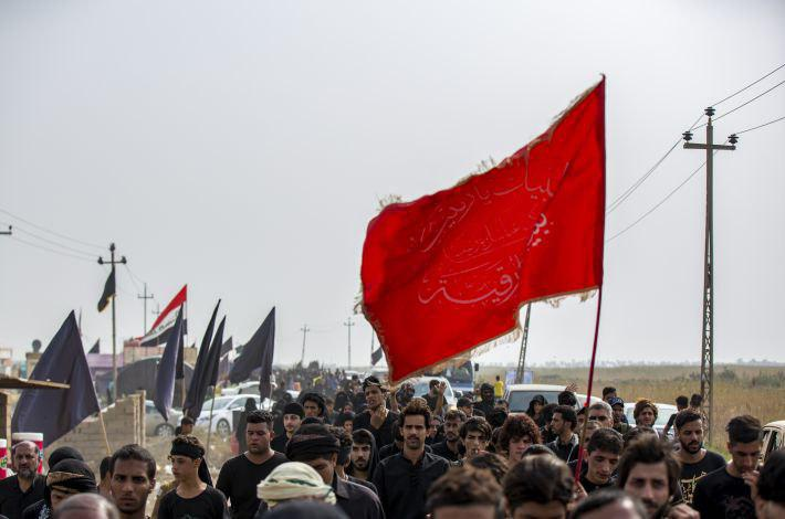 صورة مشاهد مصوّرة من مسيرة الأربعين الخالدة صوب سيد الاحرار الامام الحسين عليه السلام