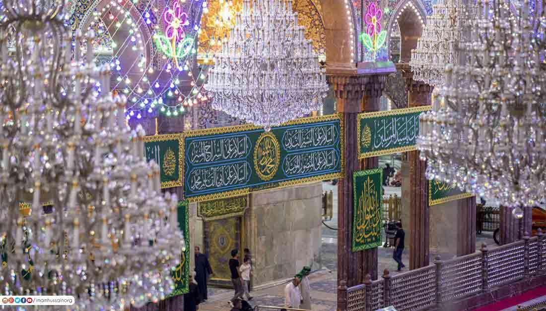 صورة العتبة الحسينية تعلن استعدادها لاحياء ذكرى ولادة النبي الاكرم صلى الله عليه واله