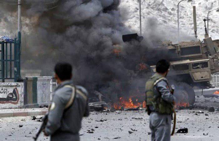 صورة مقتل عشرة من أسرة واحدة في انفجار بأفغانستان