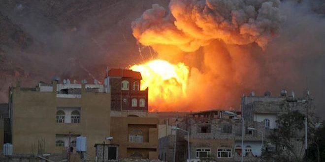 صورة ارتفاع حصيلة ضحايا مجزرة في صعدة اليمنية إلى 17 شهيدا