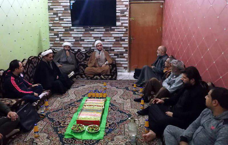 صورة الجلسة الاسبوعية لمؤسسة أنوار الجوادين ببغداد