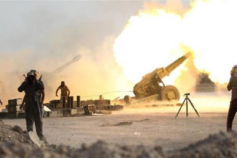 صورة العراق: مقتل داعشيين بقصف مدفعي في ديالى