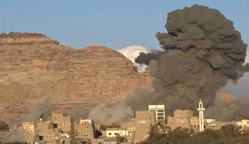 صورة استشهاد مواطن يمني بنيران الجيش السعودي بصعدة