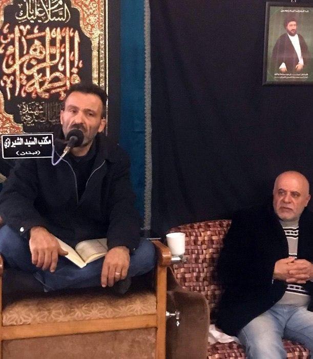 صورة اقامة مجلس تأبين بذكرى رحيل آية الله السيّد محمّد رضا الشيرازي في بيروت