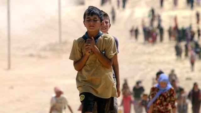 صورة تقرير: أكثر من 2114 طفلا تعرضوا لانتهاكات بالعراق والتحالف الدولي قتل 142 منهم