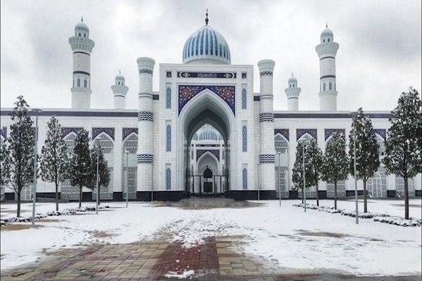 صورة طاجيكستان .. إفتتاح أكبر مسجد في آسيا الوسطى