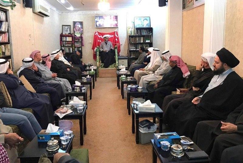 صورة نجل المرجع الشيرازي يواصل فعالياته الدينية والاجتماعية في الكويت