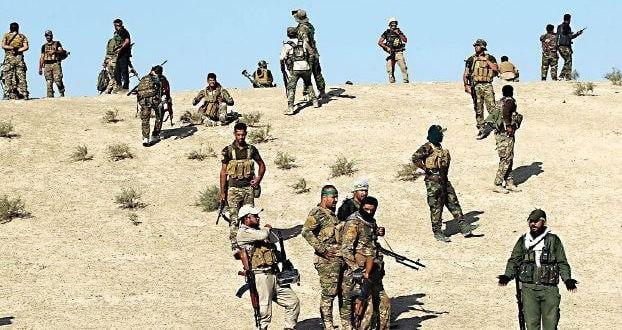 صورة الحشد الشعبي يعلن قطع 5 طرق تسلل جديدة لداعش الارهابي في ديالى
