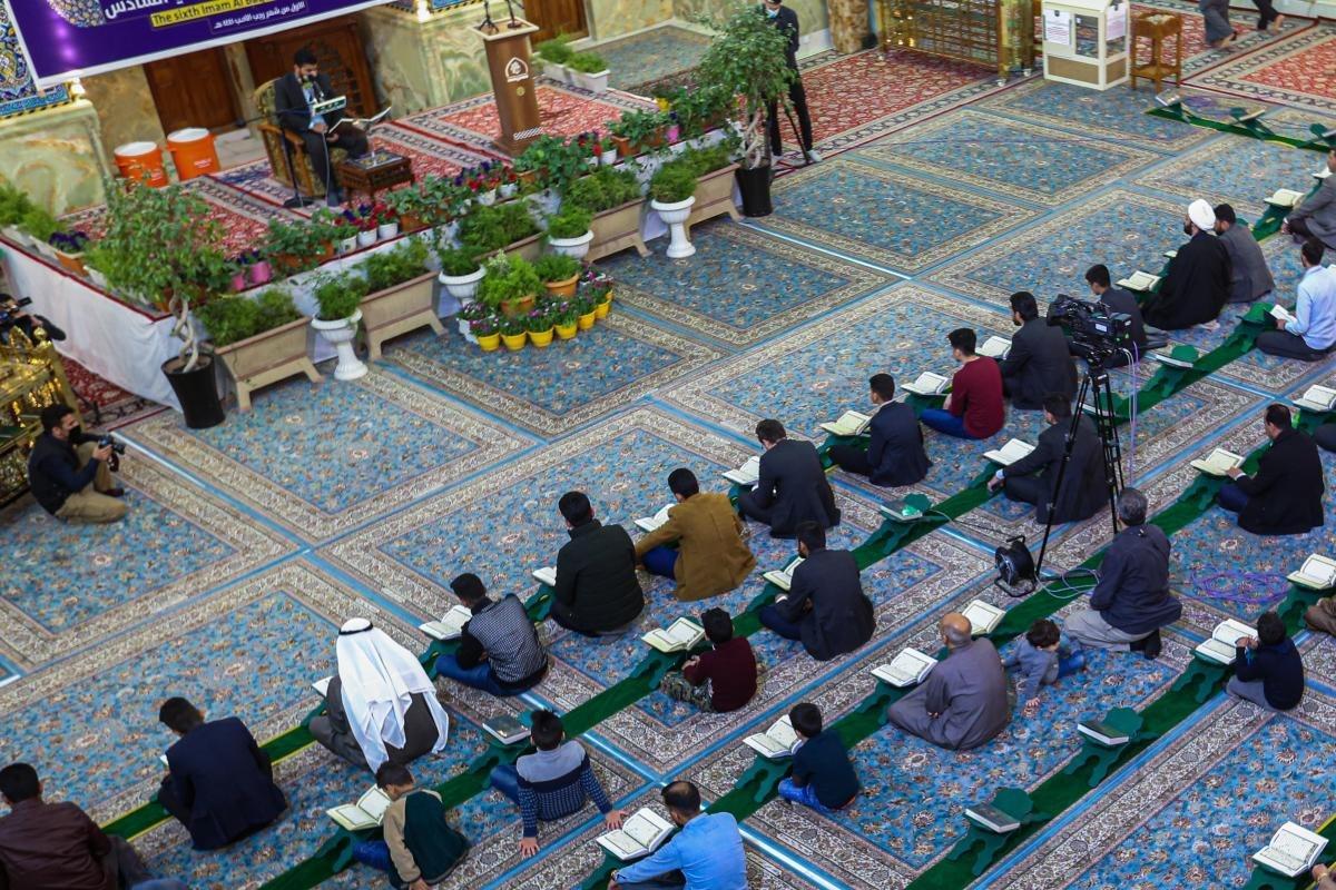 صورة الصحن العباسي المطهر يحتضن أمسية قرآنيّة ضمن فعّاليات مهرجان الإمام الباقر عليه السلام السادس