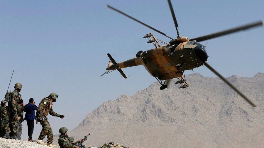 صورة الجيش الافغاني يقتل 8 عناصر من مسلحي طالبان الارهابية في غارات جوية