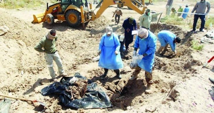 صورة مؤسسة الشهداء: فتح ثلاث مقابر جماعية جديدة في نينوى والمثنى